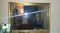 Large Mirror beveled with gold frame 3'x4' SANDIEGO