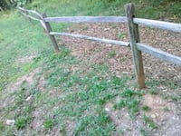 Wood style fencing