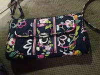 black, pink, and green floral sling bag Enterprise, 36330