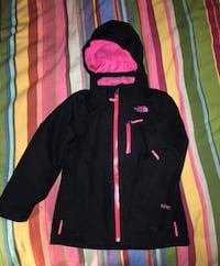 Little girls North Face Gore Tex three-in-one winter jacket XS Cabot, 05658