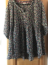 Flowered blouse light and airy  Flippin, 72634