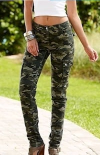 Women's Quick Dry Camouflage Pants