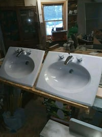 "2 light grey 26 1/2"" x 19 3/4"" sinks Chippewa Lake, 44215"
