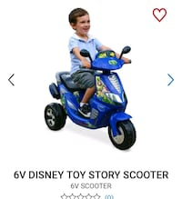 Toy story 6V ride on scooter London, N6G 2V5