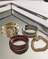 Designer bracelets. Coach, Guess, Juicy Couture. Authentic Cambridge, N3C 3E7