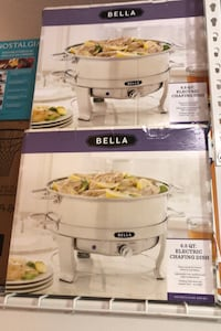 Bella 6.5QT Electric Chafing Dish