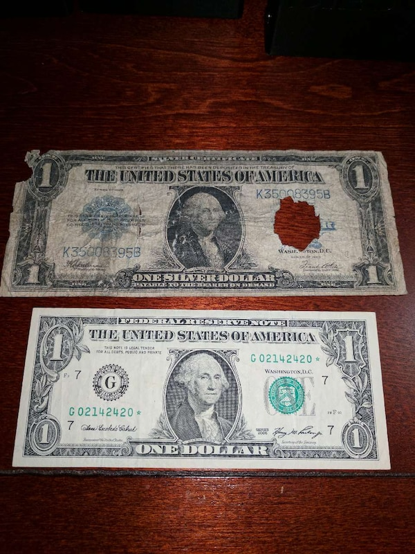 Used 1923 Silver Certificate Large $1 bill *100% auth. for sale in ...