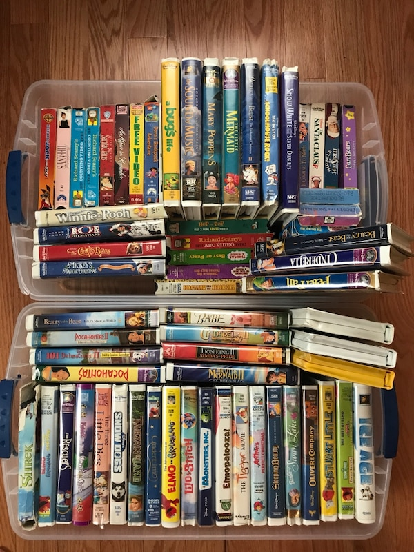 78 VHS tapes