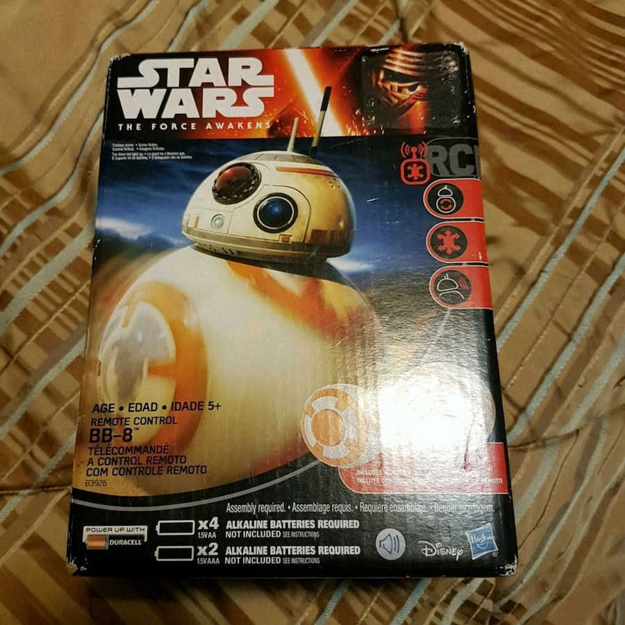 BB-8 remote control toy