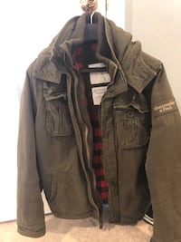 Abercrombie Fitch jacket size Large Delran, 08075