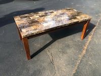 Brown and Black Marble Coffee table Stafford, 22554