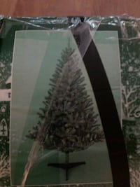 Christmas tree one time in excellent condition eve Port Coquitlam
