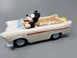 Vintage Mickey Mouse Convertible Car Soap Dish