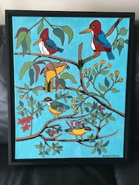 """Oil painting """"Birds of a feather""""   Ottawa, K2A 0G6"""