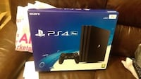 Sony PS4 Pro console box Montreal