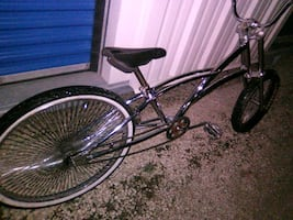 custom chopper peddle bike