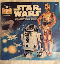 Star Wars (24 Page Read-Along Book and Record, no. 450)  Winnipeg, R2M 5J2