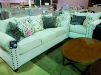 Tan/beige couch and love seat set  Pineville, 28134