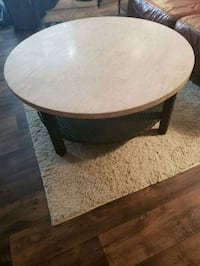 round tan patio or coffee table Ashburn, 20148