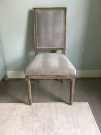 Upholstered/wood dining chairs (set of 5) Reston, 20194