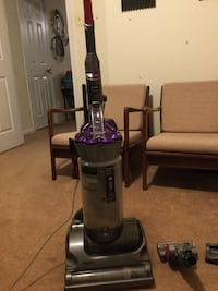 black and gray upright vacuum cleaner Springfield, 22153