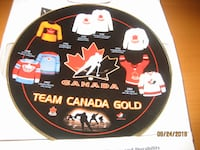 Team Canada Gold Collectors Plate TORONTO