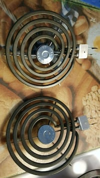Two new small coils for coil top range/ovens  Montréal, H1W 1A8