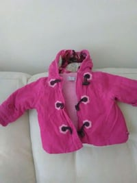 Childrens place coat girls 6-9. Months