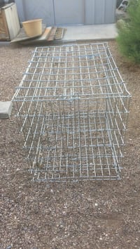 Large stainless steel animal cage 4 foot x 2ft x 3 ft Las Vegas, 89108