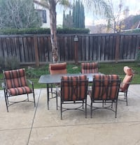 two brown wooden chairs with brown wooden bases Brentwood, 94513