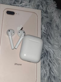 iPhone 8plus + AirPods  Stockholm, 162 43