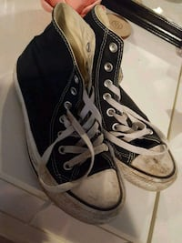 pair of black Converse All Star high-top sneakers Bremerton, 98312