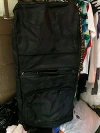 Gently used wardrobe case.