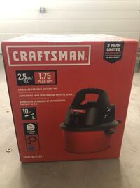 Craftsman 2.5 Gal ShopVac