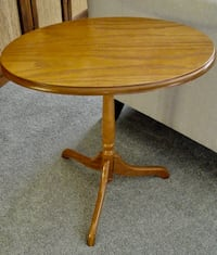 "Small, ""Tilt Top"" Table"
