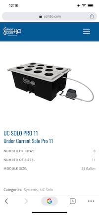 UC SOLO PRO 11 / With 1000w dimmable electronic  ballast