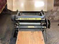 "14"" Wood Surface Planer - Foley-Belsaw Model 310 Ocean, 07712"