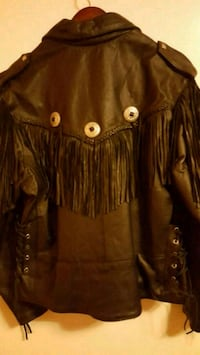 brown leather zip-up jacket Lake Charles, 70601