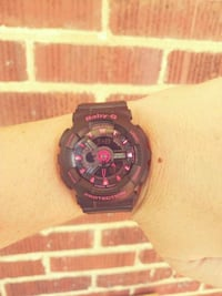 Black & pink G Baby watch Louisville, 37777