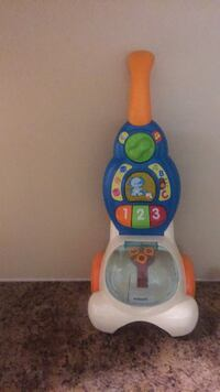 white, blue, and yellow Fisher Price learning walker Welland, L3B 2M4