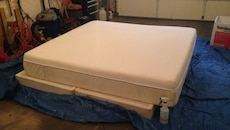 BRAND-NEW TEMPURPEDIC KING SIZE MATTRESS AND BOX SPRING
