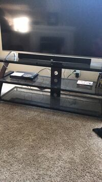 Glass tv stand  Highlands Ranch, 80130