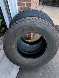2 tires 245/75/16 Newington, 06111