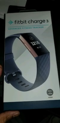 Fitbit Charge 3 Blue Gray Rose Gold Ashburn, 20147