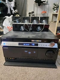 5 disc dvd player and surround sound system