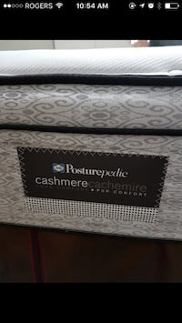 Gray and black floral mattress Calgary, T2L