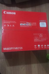 Canon Maxify MB2120 all in one! Printer scanner copier and fax machine