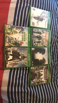 Six Xbox one games, $7.5 dollars each. You may choose which games you want and subtract from the original price. Middletown, 10940