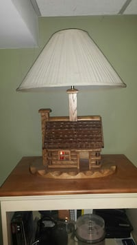 Log cabin lamp Berkeley Township, 08721