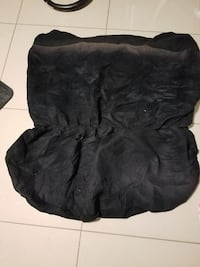 Jeep wrangler back seat cover